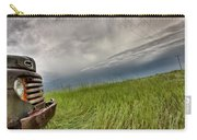 Old Vintage Truck On The Prairie Carry-all Pouch