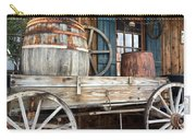 Old Wagon And Barrell Carry-all Pouch