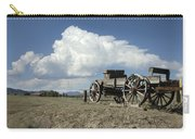 Old Wagon Out West Carry-all Pouch by Jerry McElroy