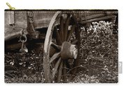 Old Wagon Wheel Carry-all Pouch