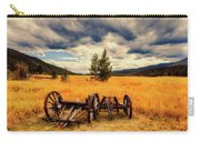 Old Wagons In Meadow Carry-all Pouch