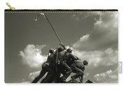 Old Washington Photo - Iwo Jima War Memorial Carry-all Pouch