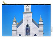 Old Weathered Church On Hill Top Carry-all Pouch