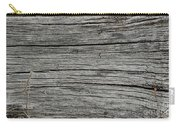 Old Weathered Wood Board Carry-all Pouch