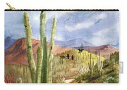 Old Western Skies Carry-all Pouch