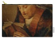 Old Woman Praying Carry-all Pouch