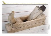 Old Wood Planer Carry-all Pouch