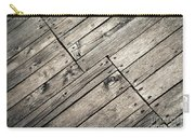 Old Wooden Boards Nailed Carry-all Pouch