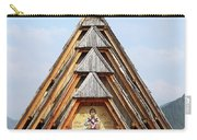 Old Wooden Church On Mountain Carry-all Pouch