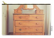Old Wooden Dresser Carry-all Pouch