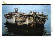 Old Wooden Fishing Boat Carry-all Pouch