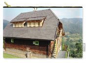 Old Wooden House On Mountain Carry-all Pouch