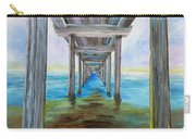 Old Wooden Pier Carry-all Pouch