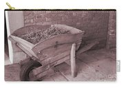 Old Wooden Wheelbarrow Carry-all Pouch