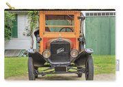 Old Woodie Model T Ford  Carry-all Pouch