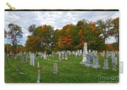 Old Yard Cemetery Stowe Vermont Carry-all Pouch