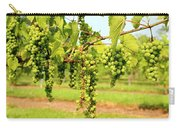 Old York Winery Grapes Carry-all Pouch