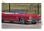 Oldsmobile Delta Royale 88 Red Convertible Carry-all Pouch