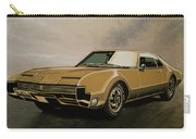 Oldsmobile Toronado 1965 Painting Carry-all Pouch
