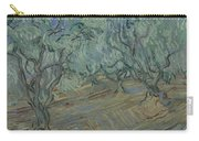 Olive Grove Saint Remy De Provence  June 1889 Vincent Van Gogh 1853  1890 Carry-all Pouch
