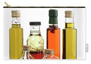Olive Oil,salad Dressing And Vinegar Carry-all Pouch