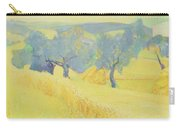 Olive Trees In Tuscany Carry-all Pouch by Antonio Ciccone