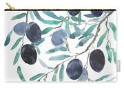 Olive Watercolor 2018 Carry-all Pouch