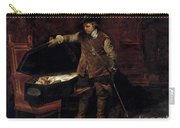 Oliver Cromwell Opening The Coffin Of Charles I  Carry-all Pouch