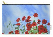Olivia's Poppies Carry-all Pouch