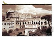 Colosseum From Roman Forums  Carry-all Pouch