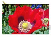 Olympia Poppy Carry-all Pouch