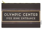 Olympic Center 1932 Rink Entrance Carry-all Pouch
