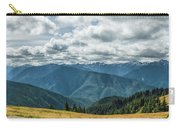 Olympic Mountains Carry-all Pouch