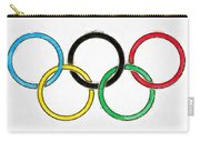Olympic Rings Pencil Carry-all Pouch