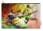Olympics 100 M Gold Medal Usain Bolt Carry-all Pouch