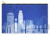 Omaha Blueprint Skyline Carry-all Pouch