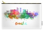Omaha V2  Skyline In Watercolor  Carry-all Pouch