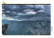 Ominous Clouds Over Glacier Point Carry-all Pouch