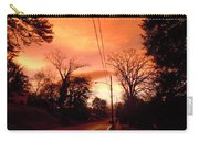Ominous Orange Skies 1 Carry-all Pouch