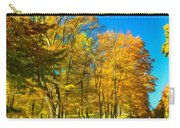 On A Country Road 4 - Paint Carry-all Pouch