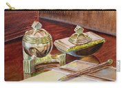 On A Desk At Eugene O Neill Tao House Carry-all Pouch