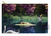On A Lake Carry-all Pouch by Svetlana Sewell