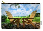 On A Pretty Summer Day Oil Painting Carry-all Pouch