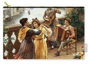 On A Venetian Balcony Carry-all Pouch