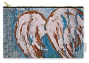 On Angel Wings Carry-all Pouch