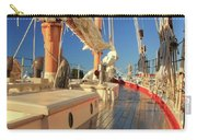 On Deck Of The Schooner Eastwind Carry-all Pouch