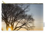 On Fire - Bright Sunrise Through The Willows Carry-all Pouch