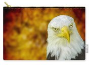 On Fire The American Bald Eagle Carry-all Pouch