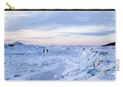 On Lake Michigan Ice Carry-all Pouch
