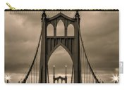 On St Johns Bridge Carry-all Pouch
